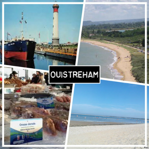 Ouistreham -    view on sea
