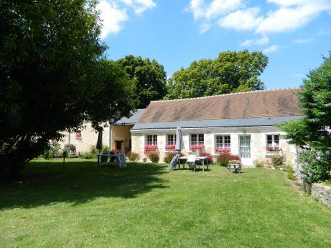 Gite Lussault Sur Loire  - 4 personnes - location vacances  n°61233