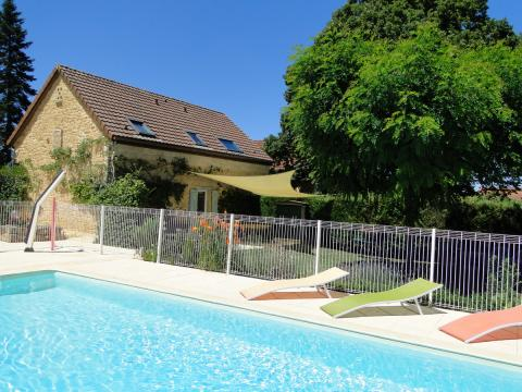 Gite Gourdon - 8 people - holiday home  #61377