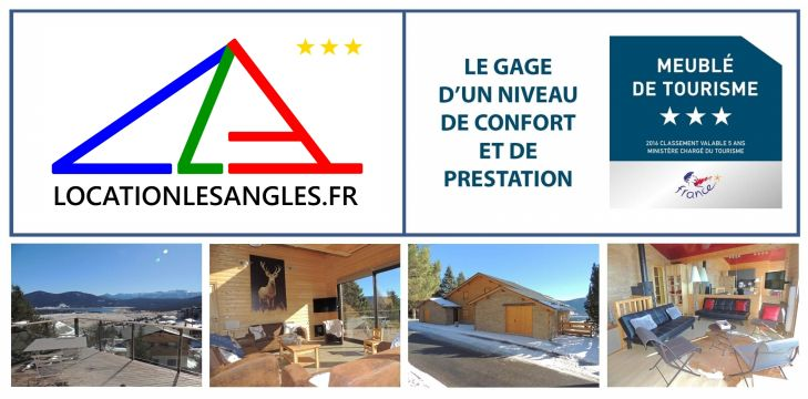 Chalet in Les Angles - Vacation, holiday rental ad # 61416 Picture #1