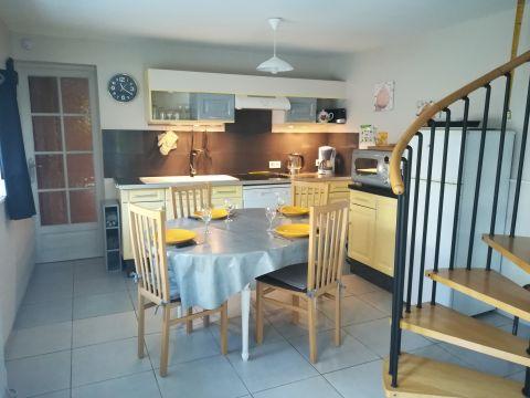 Maison à La ronde haye pour  6 •   avec terrasse   n°61461