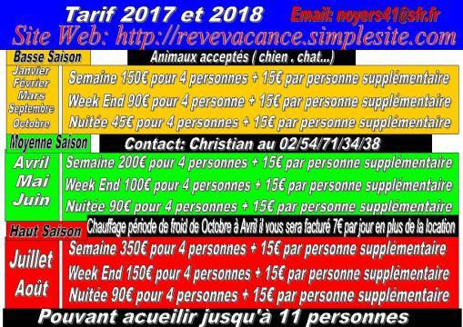 Huis Saint-aignan Sur Cher - 11 personen - Vakantiewoning