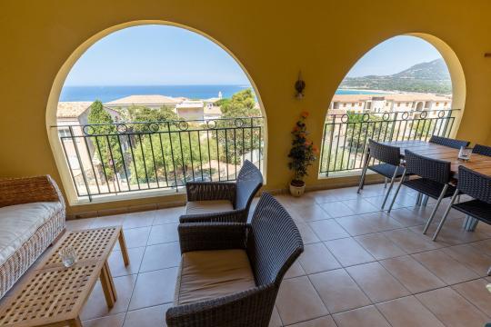 Appartement 7 personen Algajola - Vakantiewoning  no 61624
