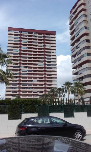 Flat in Calpe for   3 •   view on sea
