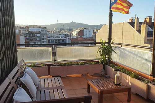 Casa en Barcelona para  4 •   con terraza