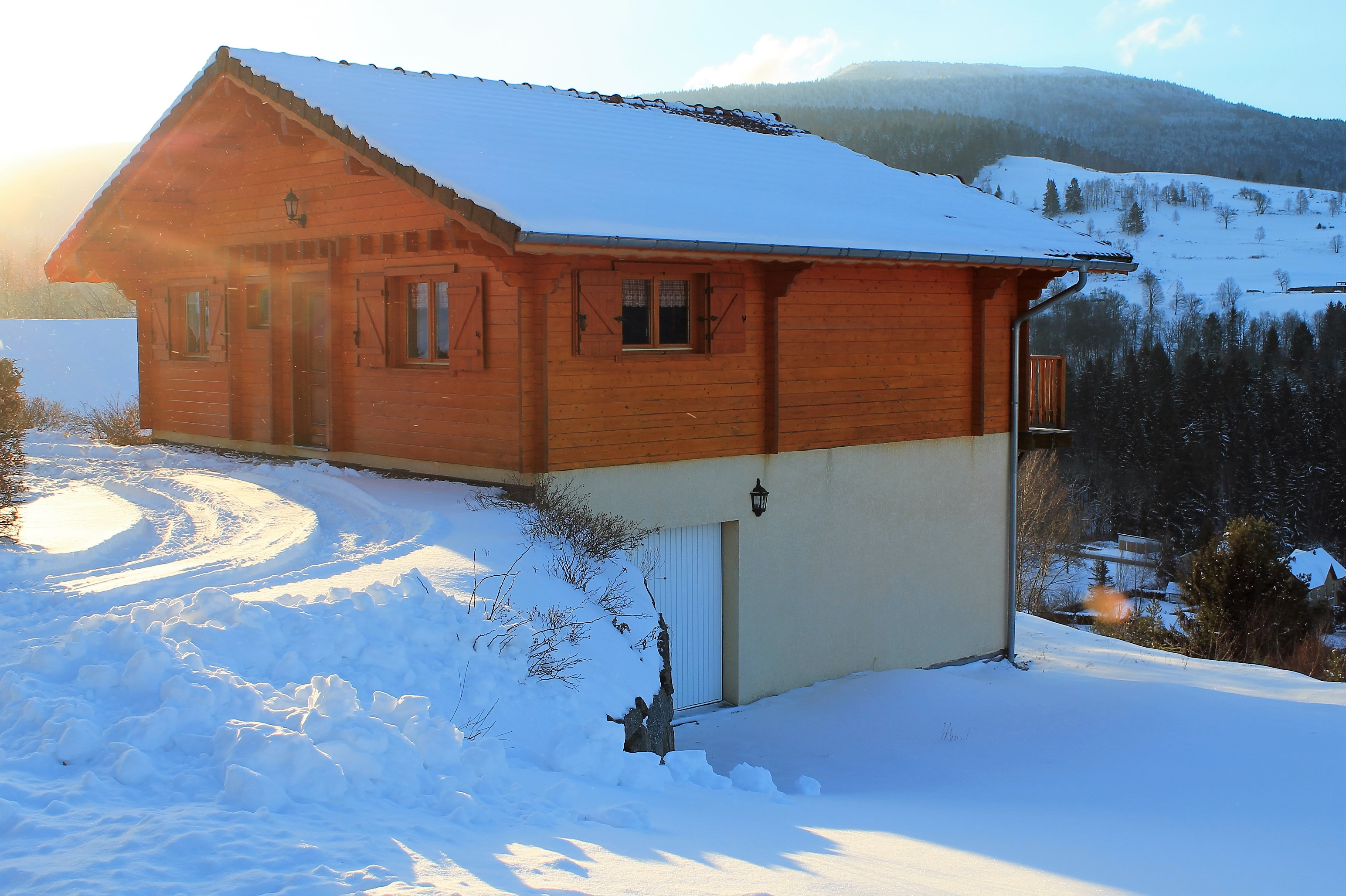 Chalet Saint Maurice Sur Moselle - 10 people - holiday home  #61756