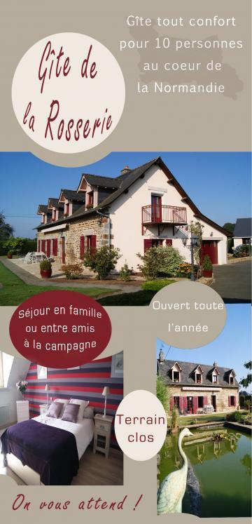 La Lande-patry - 10 people - holiday home  #61875