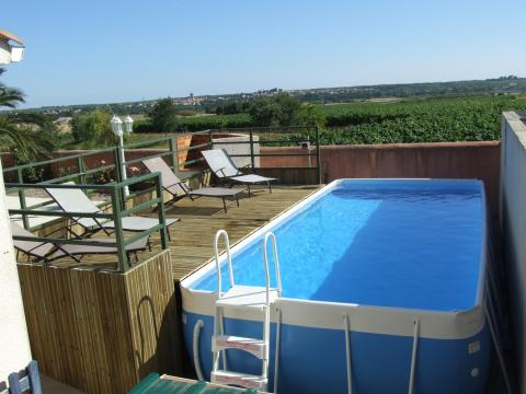 House in Valros for   10 •   with private pool