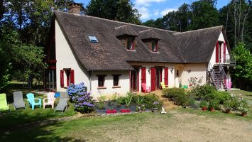 Bed and Breakfast La Bazoge - 9 personen - Vakantiewoning  no 61905