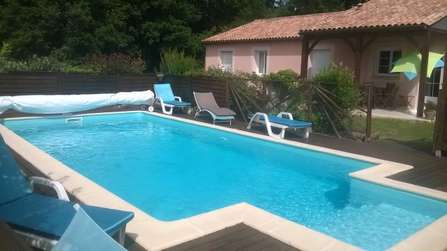 House in LA CHAPELLE-AUBAREIL - Vacation, holiday rental ad # 62117 Picture #0