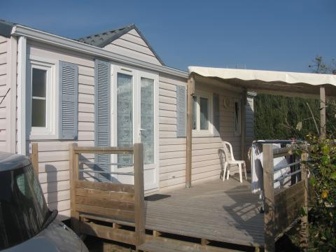 Mobile home Plouguerneau - 5 people - holiday home  #62404
