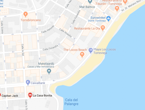 Appartement 4 personnes Torrevieja - location vacances  n°62584