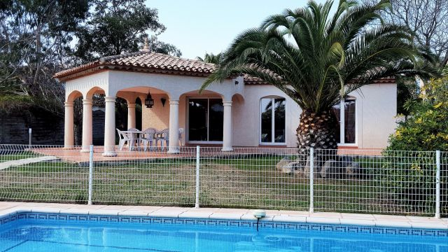 House in POMEROLS - Vacation, holiday rental ad # 62633 Picture #0