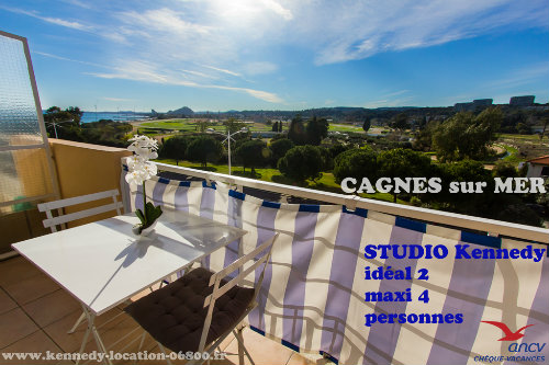 Flat in Cagnes sur mer for   4 •   with balcony