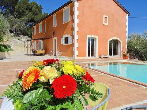 Huis in Beaucaire te huur voor 10 personen - Advertentie no 62925