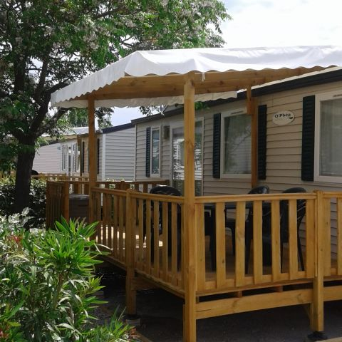Mobile home in VIC LA GARDIOLE - Vacation, holiday rental ad # 62998 Picture #10