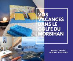 Maison 8 personnes Plougoumelen - location vacances  n°62243