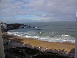 Appartement à Biarritz pour  3 •   vue sur mer