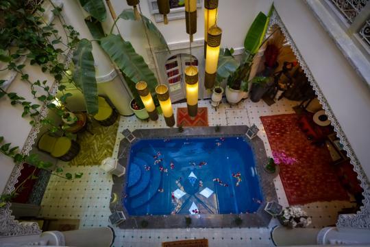 Maison 22 personnes Marrakech - location vacances  n°63351