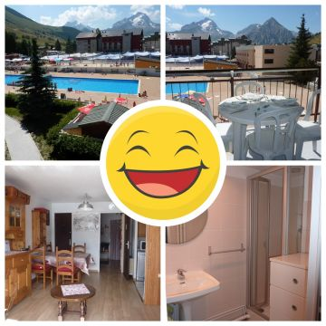 Studio in les 2 alpes - Vacation, holiday rental ad # 63434 Picture #0