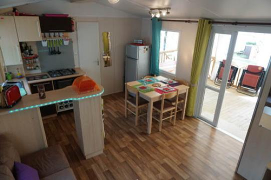 Mobile home in VALRAS-PLAGE - Vacation, holiday rental ad # 63915 Picture #4