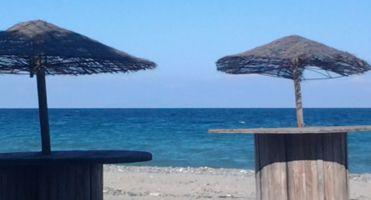 Moriani plage -    vista al mar