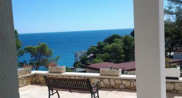 Salou -    uitzicht op zee