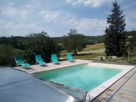 Gite in Escueillens for   10 •   with private pool   #63114