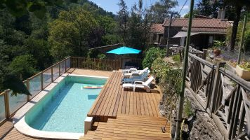 Gite Chamborigaud Cevennes - 8 people - holiday home  #63264