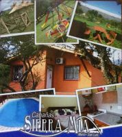 Casa de montaña en Merlo para  24 •   2 dormitorios