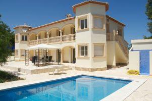 Maison à Moraira pour  8 •   avec piscine privée