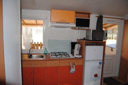 Mobile home in Le cap d'agde - Vacation, holiday rental ad # 64012 Picture #2