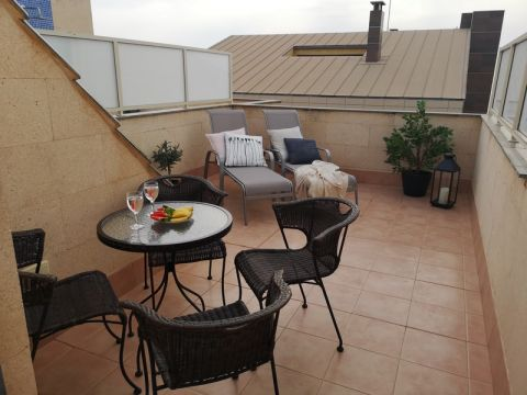 House in La mata for rent for  4 people - rental ad #64070