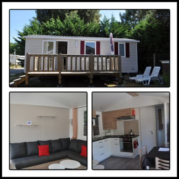 Mobile home in Saint jean de monts - Vacation, holiday rental ad # 64465 Picture #1