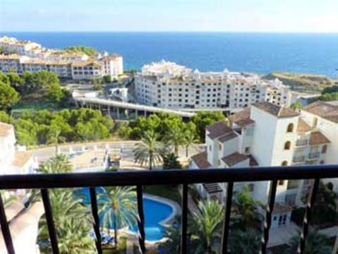 Flat in Altea for   6 •   view on sea   #64473