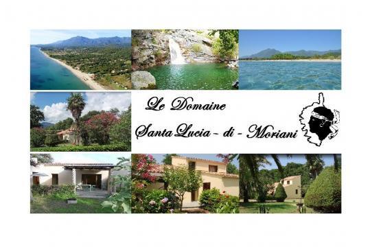 Santa lucia di moriani -    uitzicht op zee