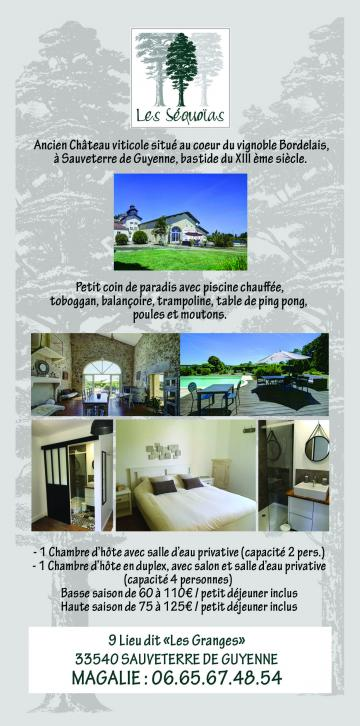 Maison Sauveterre-de-guyenne, Nouvelle-aquitaine - 6 personnes - location vacances  n°64711