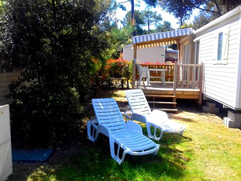 Mobile home in La palmyre - Vacation, holiday rental ad # 64723 Picture #0