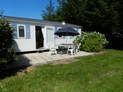 Mobile home in Fouesnant for rent for  4 people - rental ad #64837