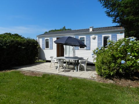 Mobile home in Fouesnant - Vacation, holiday rental ad # 64909 Picture #0