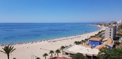 Villajoyosa/la vila joiosa -    uitzicht op zee