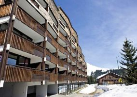 Flat Praz De Lys - 5 people - holiday home  #64305