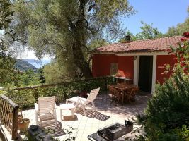 House in Pisciotta for   4 •   view on sea