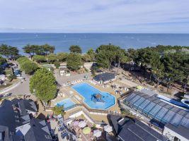 Stacaravan in Quiberon voor  6 •   met zwembad in complex