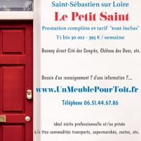 Gite 2 personnes Saint Sebastien - location vacances  n°64645