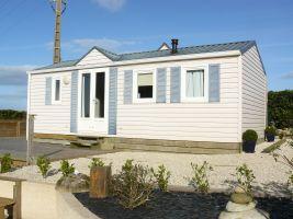 Mobil-home Landeda - 5 personnes - location vacances  n°64685