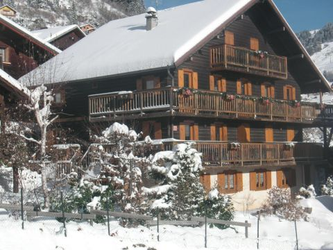 Chalet in Le grand bornand - Anzeige N°  65242 Foto N°0