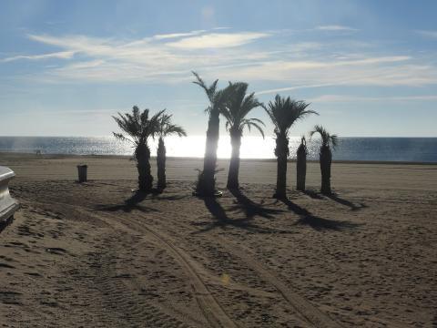 Narbonne plage -    vue sur mer
