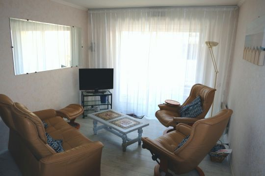 Flat in La Baule - Vacation, holiday rental ad # 65654 Picture #1