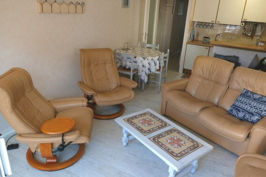 Flat in La Baule - Vacation, holiday rental ad # 65654 Picture #0